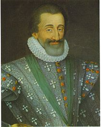Ev�nements : Henri IV de France