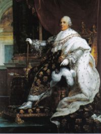 Ev�nements : Louis XVIII