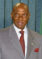 Evènements : Abdoulaye Wade