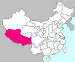 Местоположение Тибета.